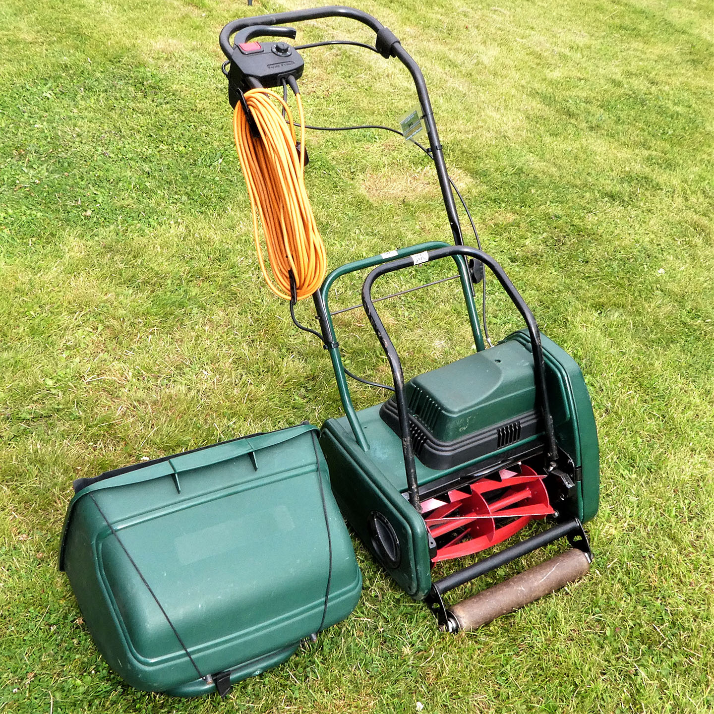 Atco Windsor 12S 12inch Self-Propelled Electric Cylinder Lawnmower